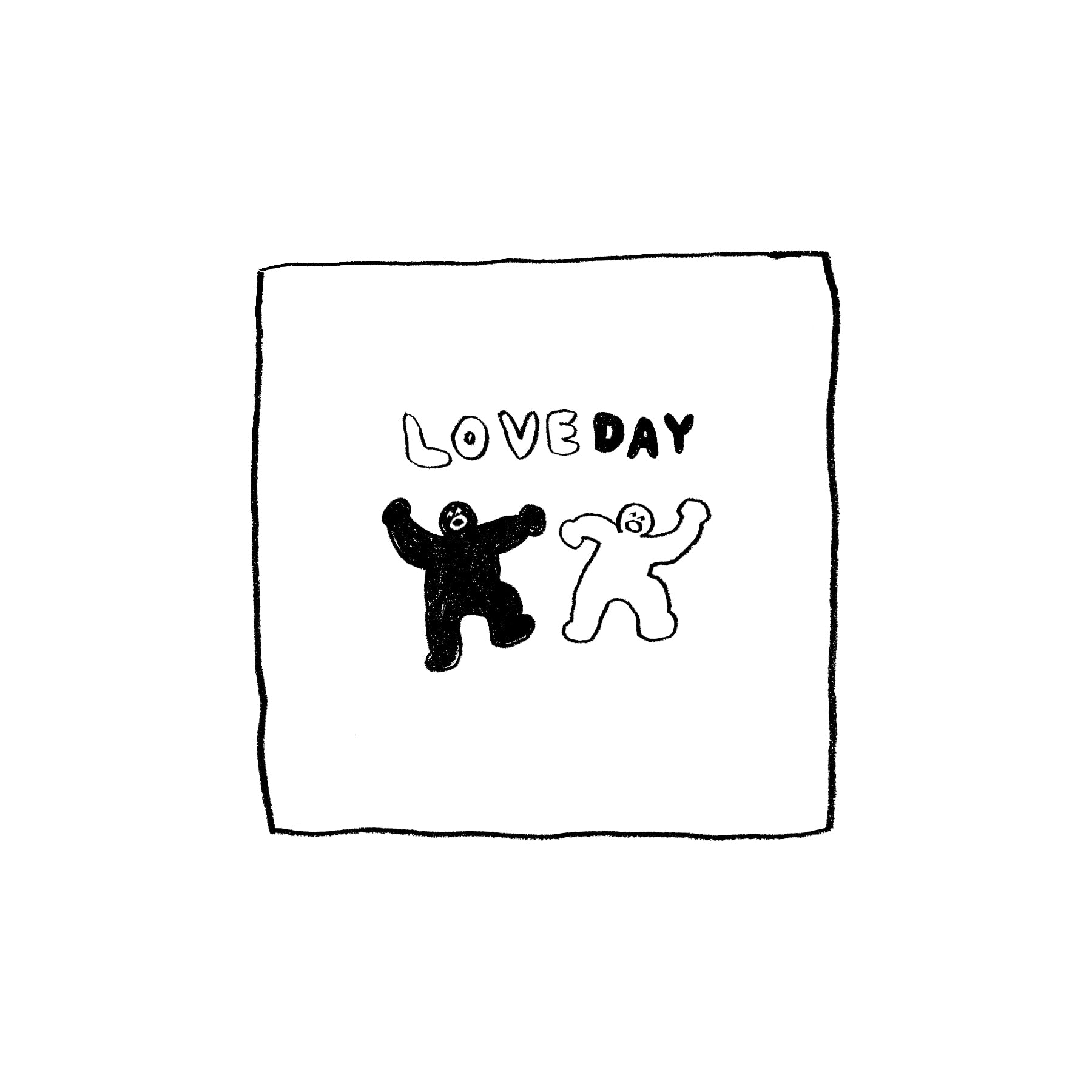 LOVE DAY DIARY STICKER
