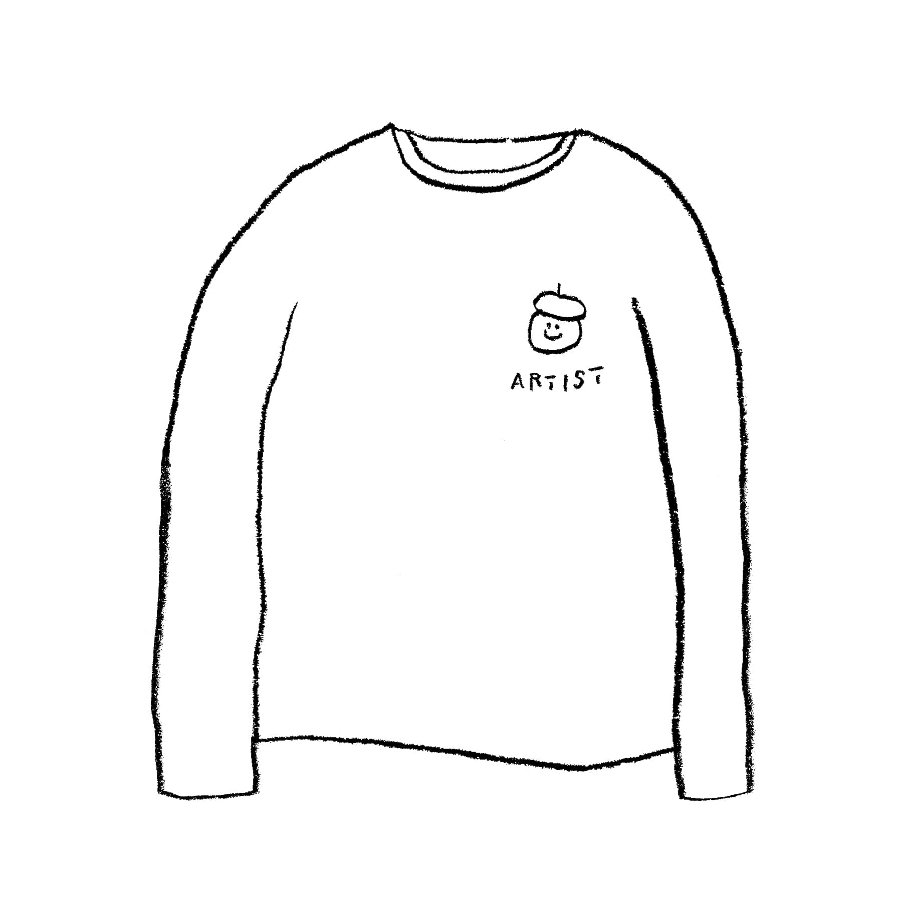 ARTIST LONG SLEEVE